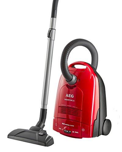 AEG-Vampyr-CEANIMAL-Staubsauger-mit-Beutel-EEK-F-1500-Watt-Beste-Reinigungsklasse-auf-Hartbden-3-Dsen-davon-2-Spezialdsen-zur-Tierhaarentfernung-inkl-Zubehr-Rot