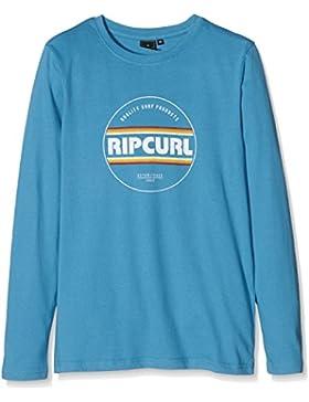 Rip Curl Biggy–Camiseta para Niño Azul Bluejay Talla:14 Años (Talla del Fabricante: 14)