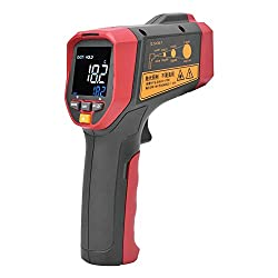 Infrarot-Thermometer, UNI-T UT303A + Berührungsloses digitales Infrarot-Thermometer-Temperaturmessgerät -32 ℃ - 800 ℃