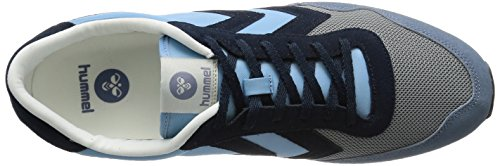 Hummel Reflex Nyhavn, Baskets Basses mixte adulte Bleu - Blau (Cool Blue 8601)
