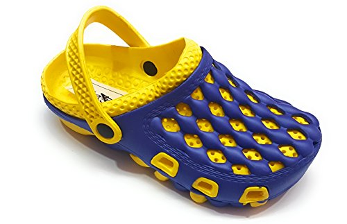 Angel Fashion Premium Quality Colorful Rocket Crocs EVA Sole Footwear For Men  available at amazon for Rs.380