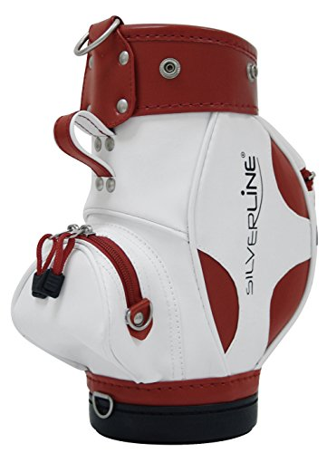 Miniatur-Golfbag / Present-Bag (Höhe 30cm) für Wein- oder Champagnerflaschen | tolles Golfgeschenk für den Golf- und Weinliebhaber
