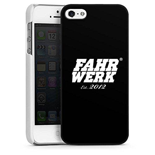Apple iPhone 5s Housse Étui Protection Coque Châssis Véhicules Voitures CasDur blanc