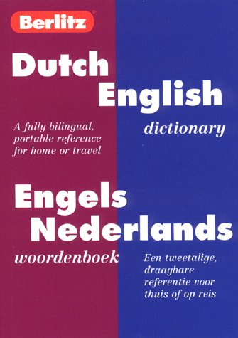 Dic Berlitz Dutch-English Dictionary/Engels-Nederlands Woordenboek