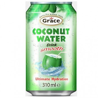 Grace Coconut Water Kokosnuss Wasser, 310 ml can (Grace Coconut)