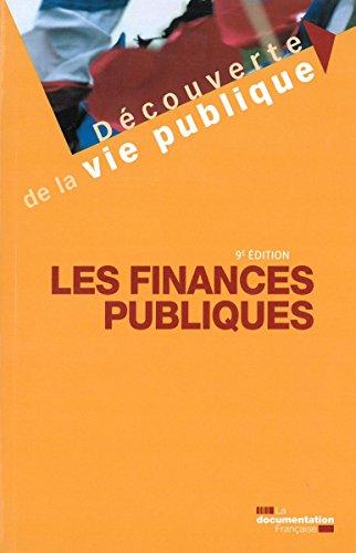 Prix pas cher Les finances publiques