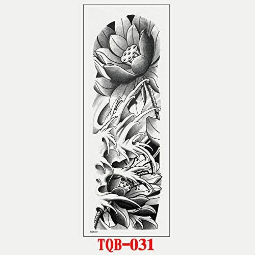 Kostüm Vollen Pfeil - Voller Arm Tattoo Aufkleber wasserdicht Tattoo Kunst Tattoo Größe Tattoo Arm Tattoo Aufkleber sicher ungiftig nachhaltig 3-5 Tage @ TQB-031_17 * 48cm