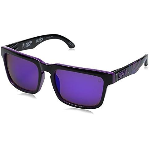 Spy, Occhiali da sole, Multicolore (Livery-Happy Gray Green W/Purple Spectra), Taglia unica - Spy Bronzo Da Sole