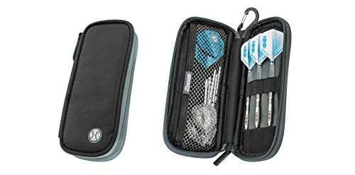 Harrows Z200 Darts Case/Wallet Black and Grey by Harrows Z200 Harrows