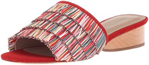 Donald J Pliner Damen Reise, Red/Multi, 38.5 EU -