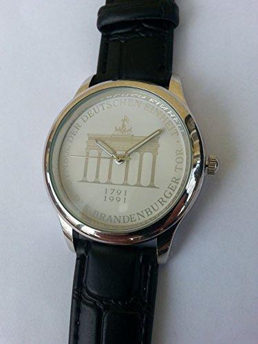 Preisvergleich Produktbild Sonderausgabe Herren-Armbanduhr mit Brandenburger Tor, analog, Quarz