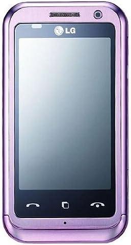 LG KM900 Arena Smartphone(Dolby Mobile Surround, FM Transmitter, GPS, 5MP,WLAN ) pink