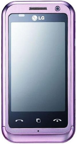 LG KM900 Arena Smartphone(Dolby Mobile Surround, FM Transmitter, GPS, 5MP,WLAN ) pink