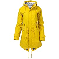 Hanomes Damen pullover, Frauen Solide Regenjacke Outdoor Hoodie Wasserdicht Mit Kapuze Langen Mantel Winddicht preisvergleich bei billige-tabletten.eu