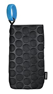 Nokia Universal Carrying Case Cover Pouch for Smartphone and Mobile Devices - Bump Black