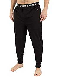 Polo Ralph Lauren Homme Logo Baudrier Pyjama Bottoms, Noir
