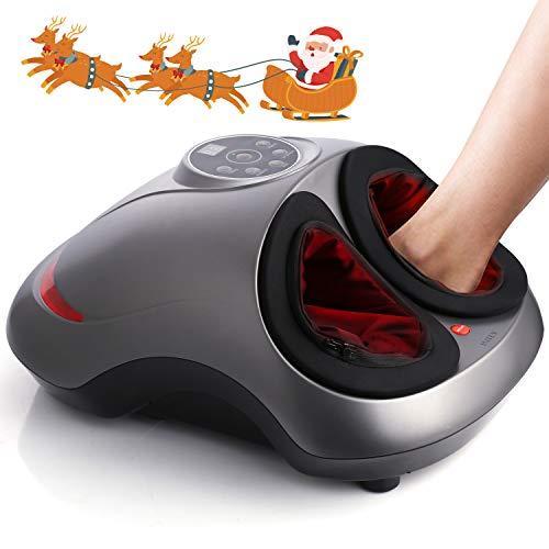 INTEY Appareil Massage Pied, 6 en 1 Multifonctions Masseur Pieds...