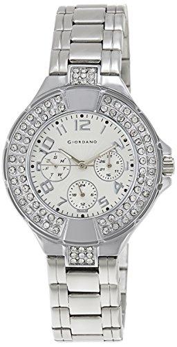 Giordano 60067-11 Analog White Dial Women's Watch image