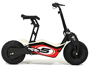 velocifero mad 48 volt 1600 w elektro scooter bambus board. Black Bedroom Furniture Sets. Home Design Ideas