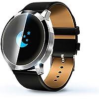 KawKaw Q8A Smart Watch Für Damen und Herren, IP67 wasserdichte Fitnessuhr mit integriertem Fitnesstracker, Pulsmesser, Schrittzähler, Kalorienzähler und Whatsapp, ideale Sportuhr