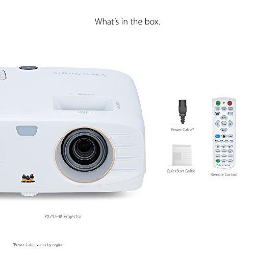 Viewsonic PX747-4K UHD Projektor (3.500 ANSI Lumen, 2x HDMI, HDR) - 6