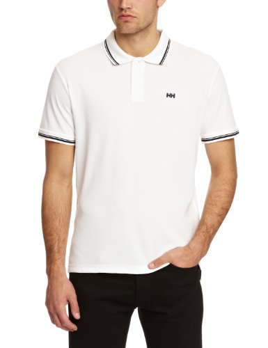 Helly Hansen Kos SS Polo - Maglietta da uomo, colore Bianco, taglia XL