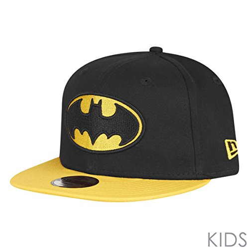 New Era Kinder Essential 9Fifty Batman Mütze, Schwarz, 6-12 Years