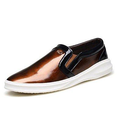 Chaussures d'hommes Office & Carrière / Party & soirée / Trotteurs en cuir Casual Black / Brown Black