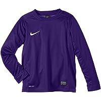 Nike langarm Park V - Camiseta, Color Morado (Court Purple/Football White), Talla XL
