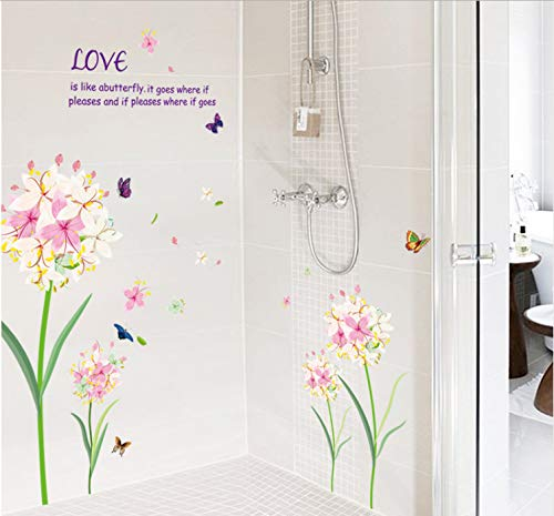 XQWZM Quality Quality Narcissus Flower Wall Stickers Women Rooms Decoration Artificial Daffodils Wallpaper DIY and Removal Vinyl Womens Daffodil