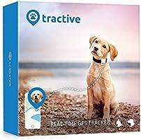 Tractive Traceur GPS pour chiens et chats - traceur animaux étanche pour collier