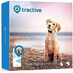 Localizzatore GPS Tractive per cani e gatti, impermeabile, adatto per ogni collare
