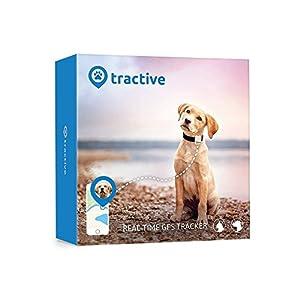 localizadores gps: Rastreador Tractive GPS para perros y gatos - resistente al agua se ajusta al co...
