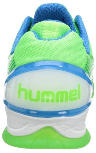 Hummel REBEL KARMA 60-048 Unisex-Erwachsene Hallenschuhe Grün (Green Gecko 6595)
