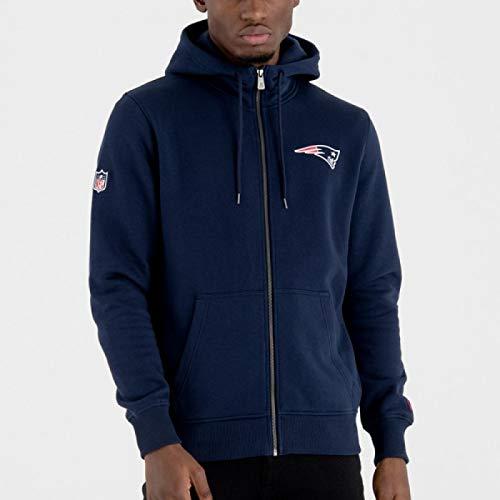 New Era - Veste Zippé NFL New England Patriots New Era Team Apparel NO Bleu  marine 45e8190cee0