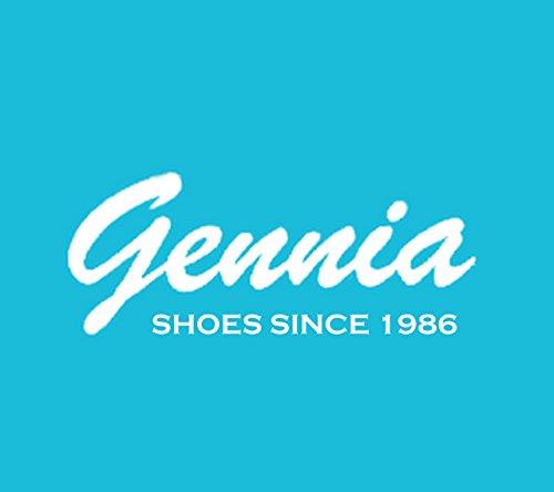 Gennia EXBIGBR - Borse Pelle Vernice Multi Leo Brown