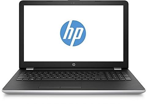 HP 15-bs006ng 1UR03EA 39,6 cm (15,6 Zoll / FHD) Laptop (Intel Core i7-7500U, 8GB RAM, 1 TB HDD, 256GB SSD, AMD Radeon 530 Grafikkarte, Windows 10 Home 64) silber/schwarz