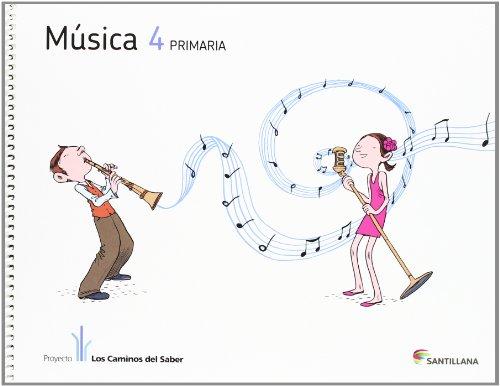 MUSICA + CD 4 PRIMARIA - 9788468009575 por Vv.Aa.
