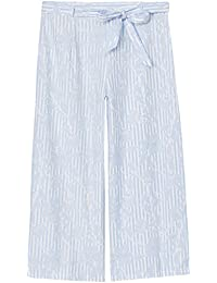 FIND Pantalon Court Ample Femme