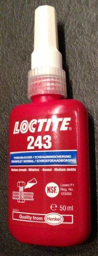 Preisvergleich Produktbild Loctite® Schraubensicherung Festigkeit: mittel 50ml 243 1335884
