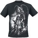 Toxic Angel Valkyrie Camiseta Negro L