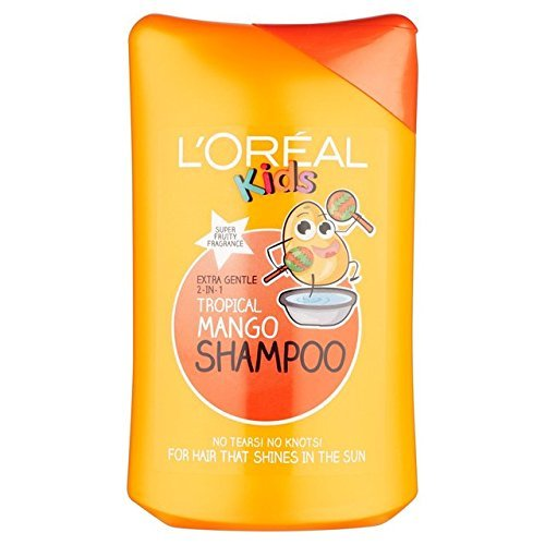 Pack Of 3 l 'Oreal Kids Tropical Mickey Mango 2 in 1 Shampoo 250 ml