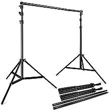 BPS 2.8M x 3M / 9.2x10 Pies Soporte Sistema de Fondo para Estudio Fotográfico para Fondos de Muslins, Papel y Lienzo,con Bolsa de Transporte