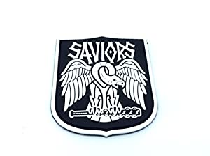 Saviours Walking Dead Fan Patch Airsoft Fan PVC Patch