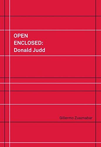 Open Enclosed: Donald Judd (ACTAR) por Gillermo Zuaznabar