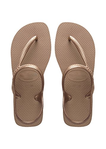 Havaianas Flash Urban, Sandali Donna, Oro (Rose Gold 3581), 37/38 EU