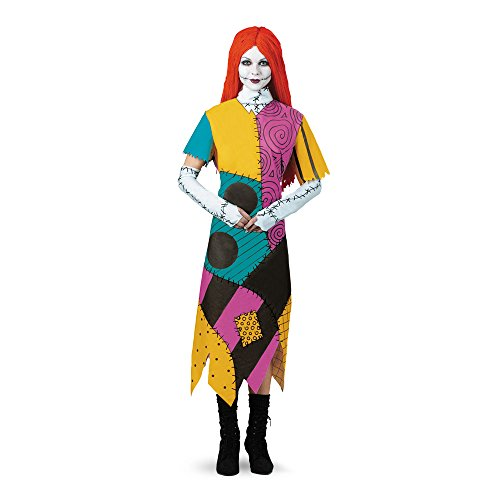 Kostüm Adult Nightmare Sally Before Christmas - Nightmare Before Christmas Sally Adult Costume XX-Large