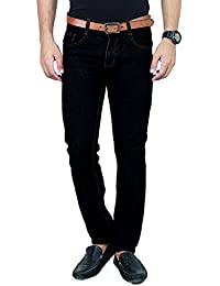100% Cotton Regular Fit Non stretchable Mens PARKER by Uber Urban