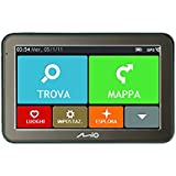 Mio Spirit 7500 WEU LM - Navegador GPS (Encendedor de cigarrillos, Batería, Portátil/Fijo, Oliva, Interno, Europa Oriental, 480 x 272 Pixeles)