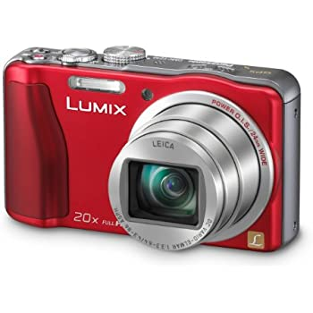 Panasonic DMC-TZ30EB-R Compact Camera - Red (14.1MP, 20x Optical Zoom) 3 inch LCD